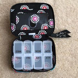 Like New Vera Bradley Travel Pill Case